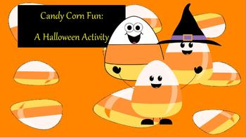Fun Kindergarten 1, 2, 3 Halloween Activity ~ Promethean Flip Chart ~ Numbers