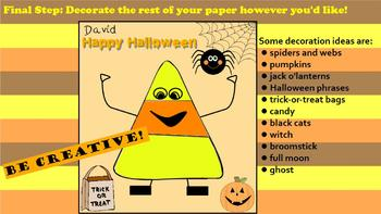 Fun Kindergarten 1, 2, 3 Halloween Activity ~ Promethean F