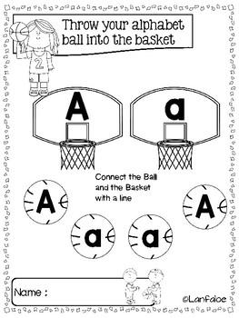 Fun Learning Alphabet Basketball Edition