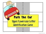 RTI Fun Letter Identification game:  Park your car activity