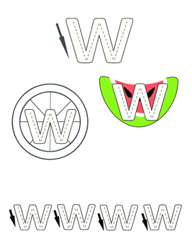 Fun Letter Tracing Pages