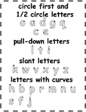 OT/Fine Motor Fun Letter Tracing Pages