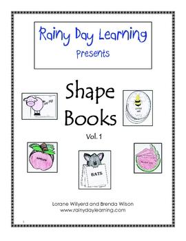 Fun Little Shape Books, Vol 1