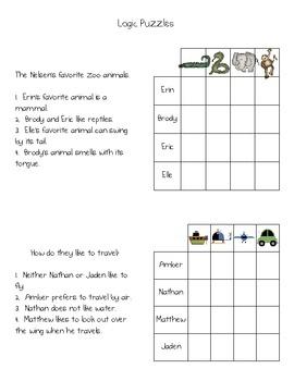 Fun Logic Puzzles