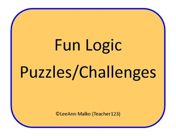 Fun Logic Puzzles/Challenges