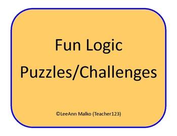 Fun Logic Puzzles/Challenges