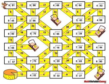 Fun Long Division Worksheets / Mazes #DollarDeal