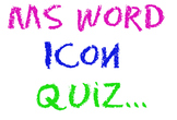 Fun MS Word Icon Quiz