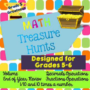Fun Math Review Activities by Grade 5 Greatness | TpT
