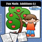 Fun Math: Additions Level 1 (freebie)