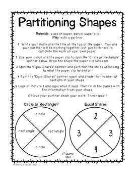 Math Centers for 2nd Grade (3rd Quarter - Common Core)