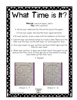 Math Centers for 2nd Grade (3rd Quarter - Common Core)