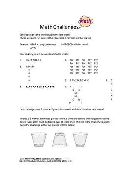 Fun Math Challenge