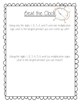 {Fun} Math Challenges