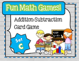 Fun Math Games - Addition / Subtraction (Set C)