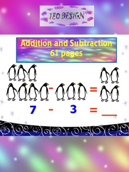 Penguins - Fun Math - Addition and Subtraction