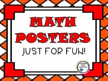 Fun Math Posters