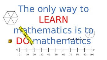 Fun Math Quotes Posters