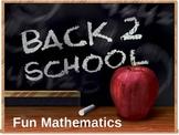 Fun Mathematics