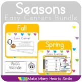 Seasons Sorts and Easy Centers MHS105