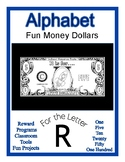 Fun Money Dollars by the letter ~ Letter R ~ Rewards  Math
