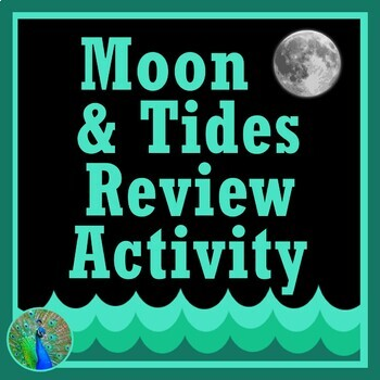 Moon Phases Tide Cards Activity - Position for Tides, Eclipses, Phase  MS-ESS1-1