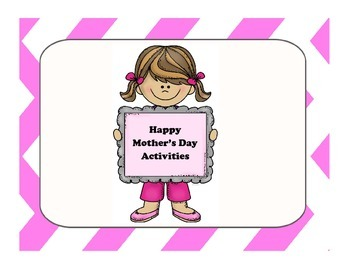 Fun Mother's Day Writing Activity