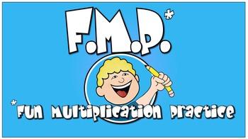 Fun Multiplication Practice (Free!) NBT.B.5