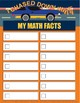 Fun Multiplication or Addition Facts Pages & Stationary