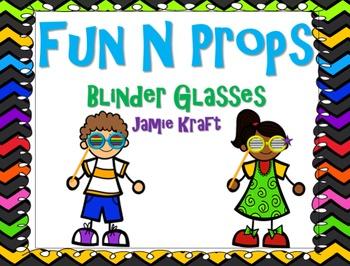 Fun N Props: Blinder Glasses