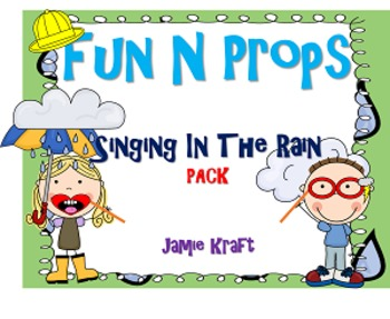 Fun N Props: Singing In The Rain PACK