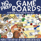 Fun NO PREP Game Boards - Animals & Creatures Theme