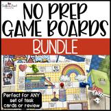 Fun NO PREP Game Boards GROWING BUNDLE