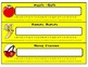 Fun Name Plates for Classroom Management (yellow)