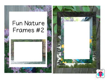 Fun Nature Frames #2