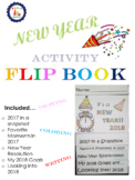 Fun New Year Activity Flip Book