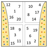 Fun Number Window for Maths Primary Students