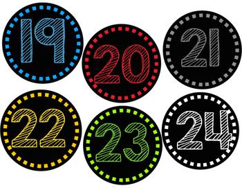 Fun Numbers 1-24