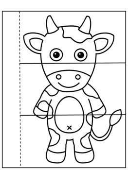 Fun Nursery Rhyme Flip Book 'Hey Diddle, Diddle