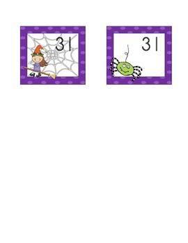 Fun October Calendar Cards