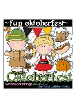 Fun Oktoberfest Clipart Collection
