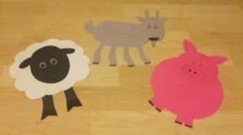Fun On The Farm Crafts/Farm Animals Templates