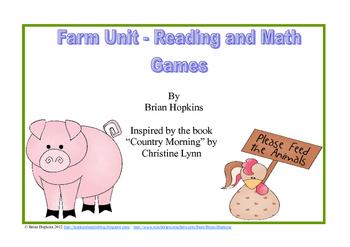 Fun On The Farm - Reading and Math