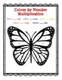 *FREE! Fun Page Activity: Butterfly Color by Number Multip