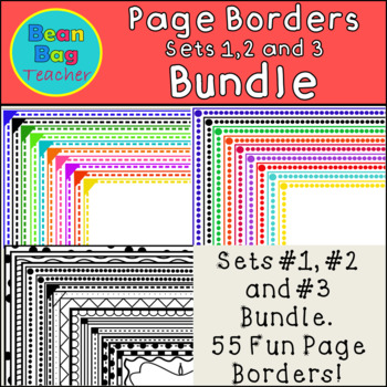 Fun Page Borders Bundle - Commercial Use