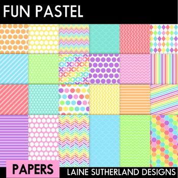 Fun Paper Pastels