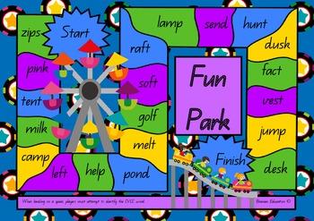 Fun Park CVCC Board Game