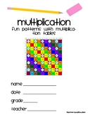 Fun Patterns with Multiplication Tables