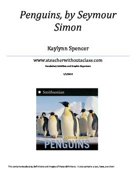 Fun Penguin Vocabulary