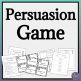 Fun Persuasion Activity for Middle School & High School